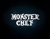 Tv show branding - Monster Chef