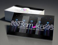Barruka Barras Móviles - Diseño de Logo y Folletería