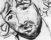 traditional drawing: self-portraits