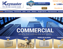 Keymaster Locksmith & Security Web Copy