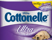Cottonelle® Ultra Cushiony Comfort Violator