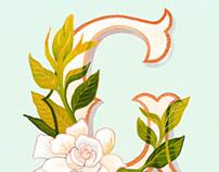Floral ABC's