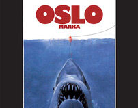 Oslo poster (jaws parody)