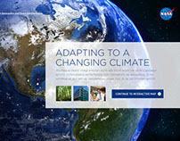 NASA Climate Change App Design