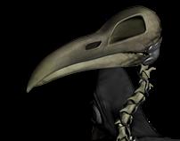 Horror Character: Raven