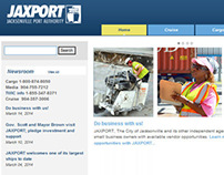 JAXPORT Web Pages and Eblast