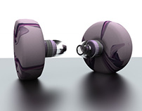 Ear bud renders