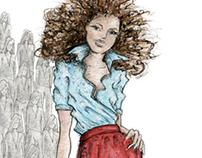 illustration for Qlix magazine