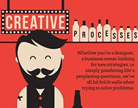 Infographic - Creative Processes