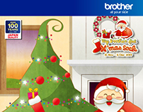 BROTHER Singapore - X'Mas Campaign