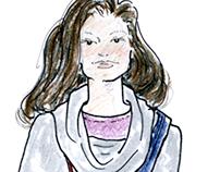 Fashion Illustrations: Lara Miller for TWW
