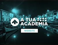 A Tua Academia - Website