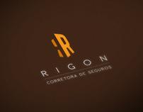 Rigon Corretora de Seguros // Branding
