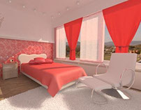3d room (bedroom)