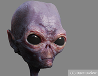 Ancient Alien Game Character