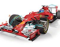 Ferrari F14T car