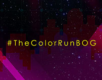 """Un mundo The Color"" for Color Run Bogotá."