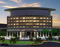 3D Architectural Exterior Rendering India -PredSolution