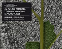 Afiches: Crecimiento demográfico e impacto ambiental