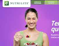 Nutrilite® web design