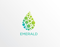 Emerald Water Logo & Visual Identity