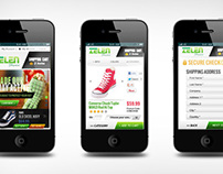 E-Commerce Mobile Websites