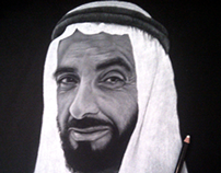 Sheikh Zayed bin Sultan - Portrait & Making-of video