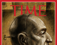 Ben Kingsley for TIME (Mock Up)
