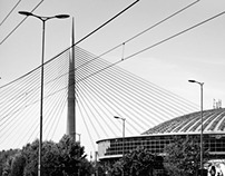 Belgrade in B&W