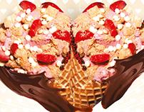 Cold Stone Creamery Ortaköy Valentine's Day POP