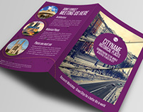 History City Guide Template Brochure