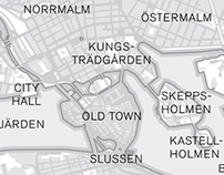 Map / Stockholm from Above
