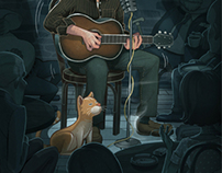 Inside Llewyn Davis / Movie Illustration