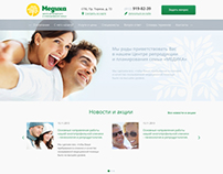 "Web site for medical center ""Medika"""