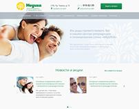 "Web site for medical center ""Medika"""