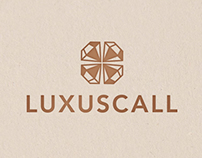 Luxuscall || Logo, Branding, Website
