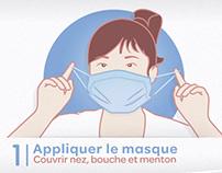 """""""Précautions Standards"""" motion graphics for CCLIN"""