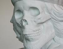 DEAD CHE BUST PORCELAIN by KOZIK