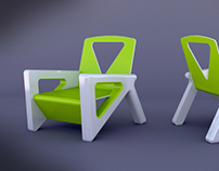 Kids chair furniture concept