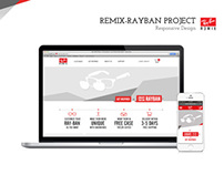 Ray-Ban Remix Responsive Customization