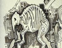 Walker - proboscis (sketchs for M.C.)