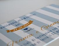 Gian Franca & Giampietro Wedding Invitation
