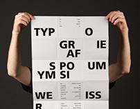Weissraum – Poster