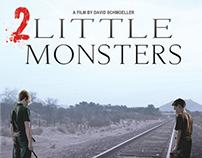 """Shelf Talker: """"2 Little Monsters"""""""