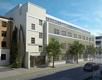 Exterior CGIs for Planning Application, North London