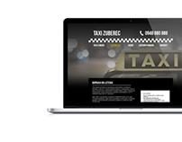 TAXI ZUBEREC webdesign