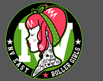 Nevada East Roller Girls logo