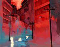 Children of the red night