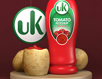 uK - ketchup Bottle Design