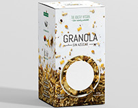 Granola Packaging - The Healthy Kitchen -